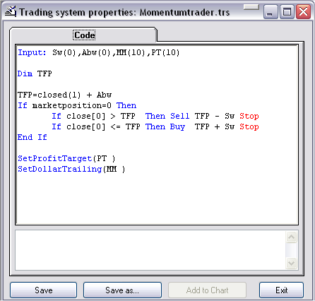 Ts trading systems